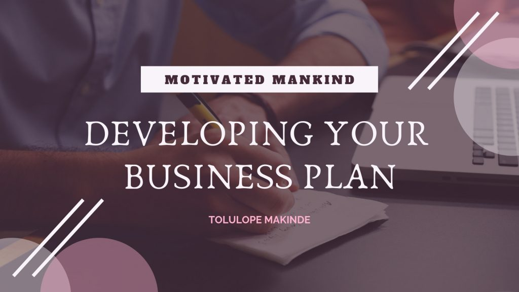 Book Cover: Developing your business plan