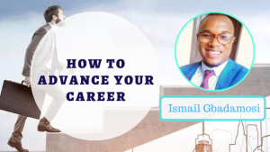 Book Cover: How To Advance Your Career