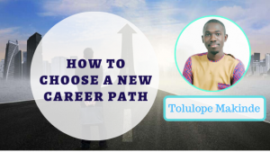 Book Cover: How to choose a new career path