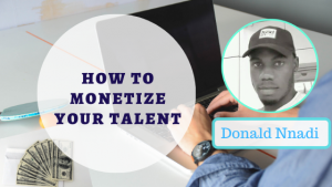Book Cover: How To Monetize Your Skill And Passion